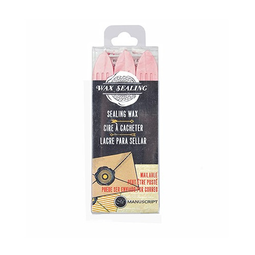 Sealing Gun Wax with Wick Pink