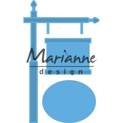 Marianne D Creatable Wegwijzer LR0522 63x101 mm - 44x35 mm  (04-18)