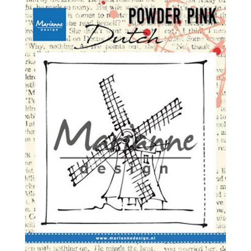 Marianne D Clear stamp P. Pink - Molen PP2802 83x84 mm (04-18)