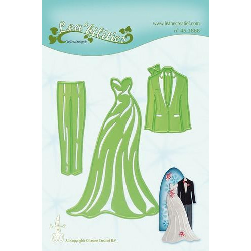 LeCrea - Lea'bilitie Dress & Suit snij en embossing mal 45.3868 (03-18)