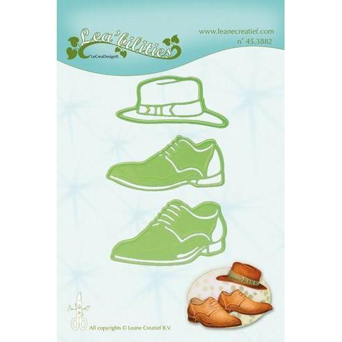 LeCrea - Lea'bilitie Men shoes & hat snij en embossing mal 45.3882 (03-18)