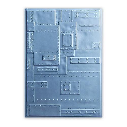 Sizzix 3-D  Embossing Folder - Rivets 662717 Tim Holtz (05 -18)