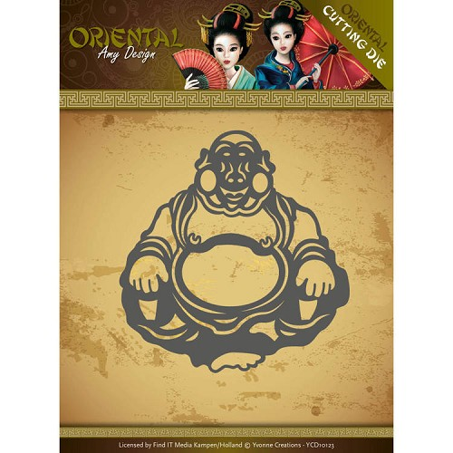 Dies - Amy Design Oriental - Happy Buddha