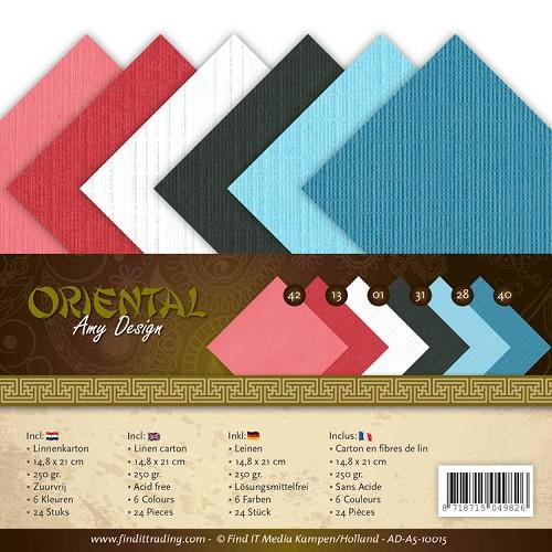 Linnenpakket - A5 - Amy Design Oriental