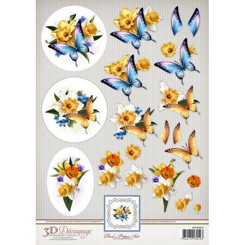 Ann`s Paper Art 3D Decoupage - Daffodils