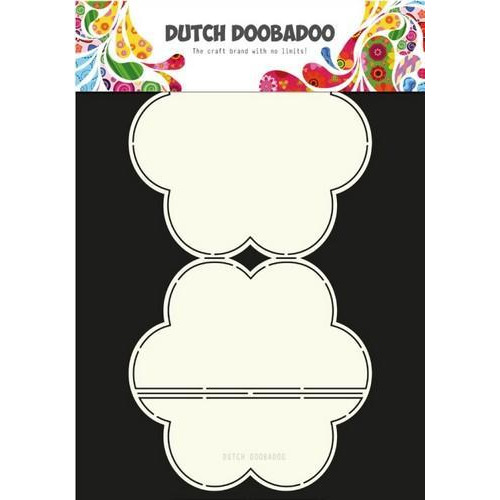 Dutch Doobadoo Dutch Card Art ezel bloem 470.713.664 A4 (04-18)