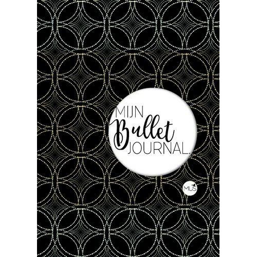 BBNC - Mijn bullet journal zwart goud POCKET - nl 55x114x14 mm (04-18)