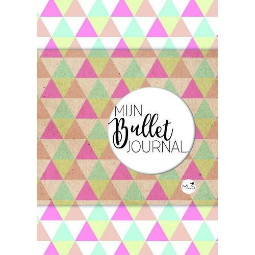 BBNC - Mijn bullet journal driehoek POCKET - nl 55x114x14 mm (04-18)