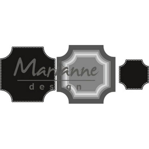 Marianne D Craftable Basic vierkant CR1438 56x56 - 110x110mm (05-18)