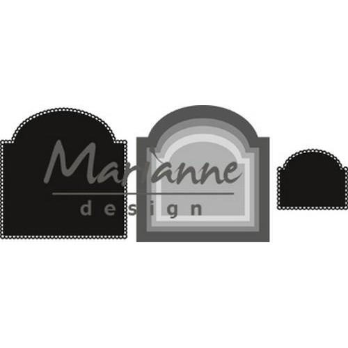 Marianne D Craftable Basic boog CR1439 63x46 - 101x104mm (05-18)
