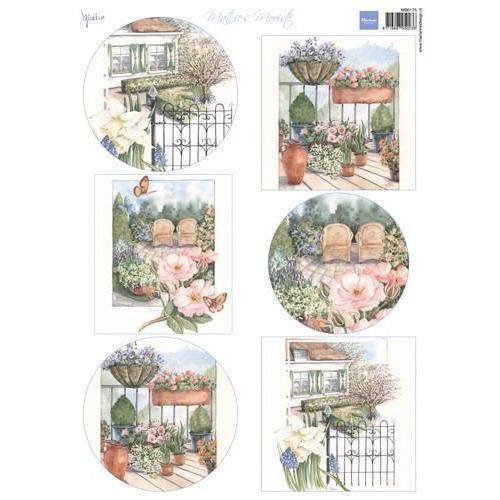 Marianne D 3D Knipvellen Mattie`s mooiste: tuin MB0175 (05-18)