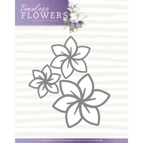 Dies - Precious Marieke - Timeless Flowers - Clematis Trio