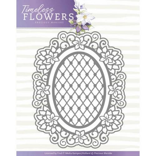 Dies - Precious Marieke - Timeless Flowers - Clematis Oval