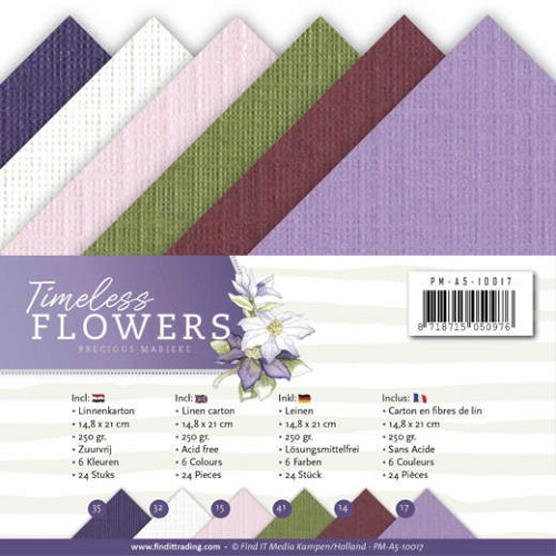 Linnenpakket - A5 - Precious Marieke - Timeless Flowers