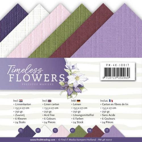Linnenpakket - 4K - Precious Marieke - Timeless Flowers