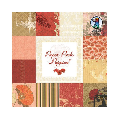 Paper Pack, Poppies