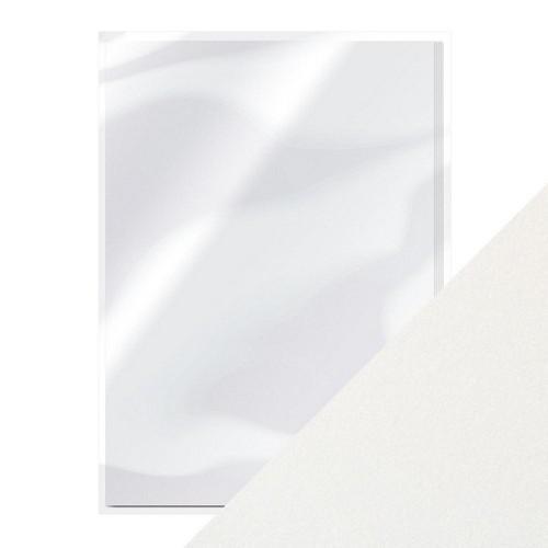 Tonic pearlescent karton - pearl white5 vl A4 9497e