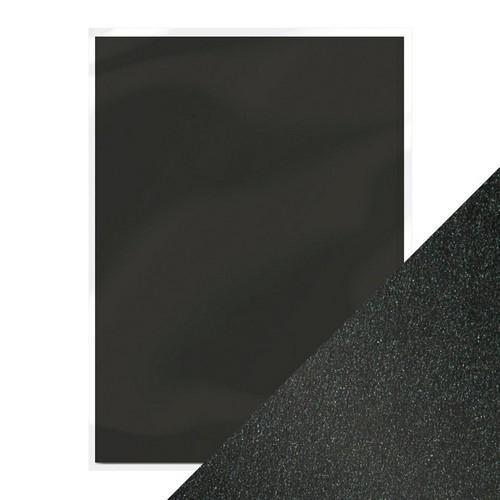 Tonic pearlescent karton - onyx black 5 vl A4 9498e