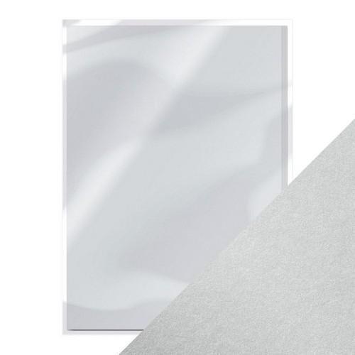 Tonic pearlescent karton - luna silver 5 vl A4 9499e