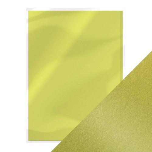 Tonic pearlescent karton - lime light 5 vl A4 9502e