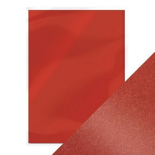 Tonic pearlescent karton - red velvet 5 vl A4 9506e