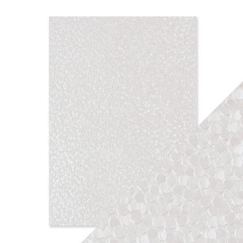 Tonic Studios embossed papier - snowdrop meadow 9799E Handmade