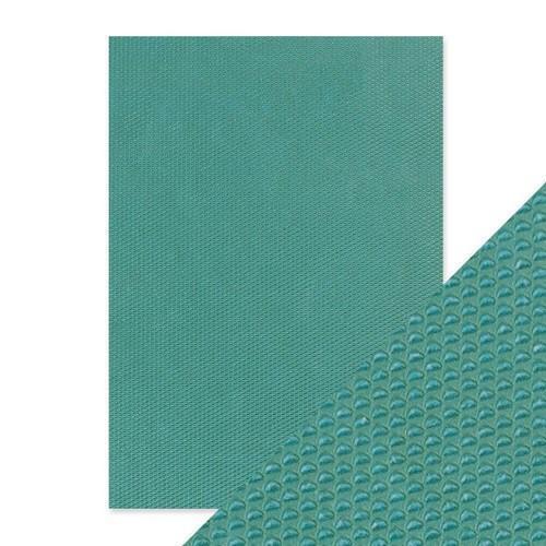 Tonic Studios embossed papier - mermaids tail 9802E Handmade