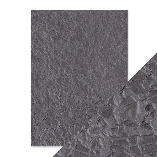 Tonic Studios embossed papier - crushed metal 9804E Handmade