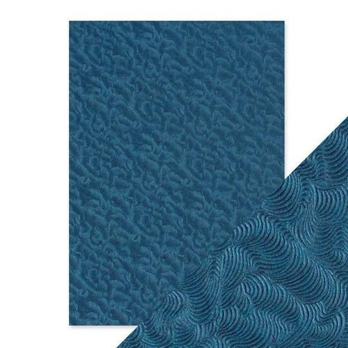 Tonic Studios embossed papier - deep sea dive 9806E Handmade