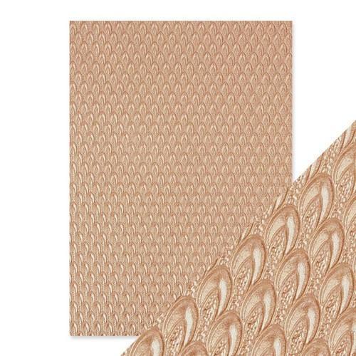 Tonic Studios embossed papier - champagne fountain 9808E Handmade