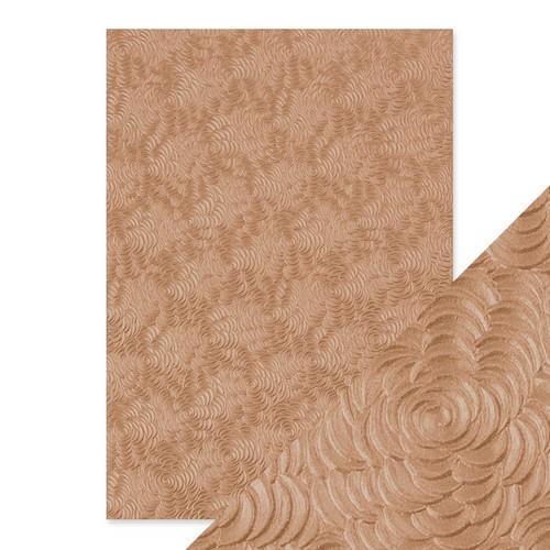 Tonic Studios embossed papier - warm dahlia 9812E Handmade