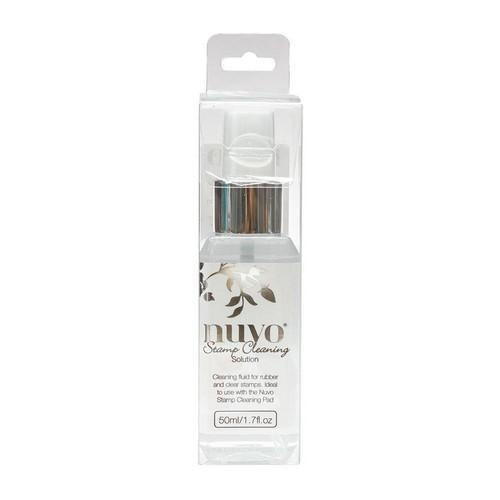 Nuvo stamp cleaning solution 50ml 974N