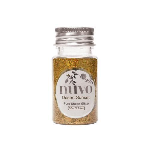 Nuvo glitter - desert sunset 35ml 1100N