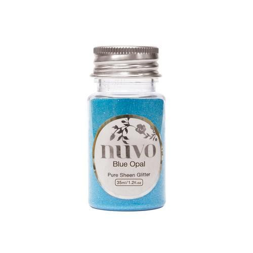 Nuvo glitter - blue opal 35ml 1106N