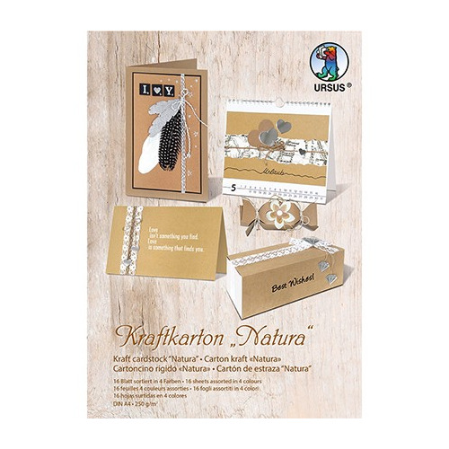 Kraft Cardboard Pad, Natura