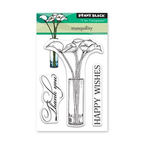 Mini Clear Set Stamp Tranquility