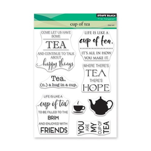 Clear Set Stamp Cup of Tea