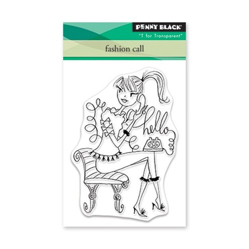 Clear Set Stamp Fashion Call