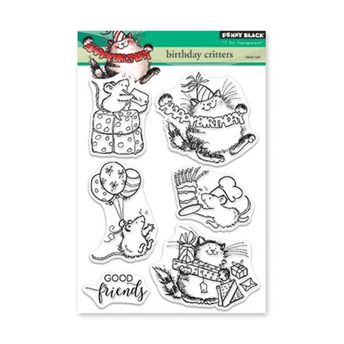 Clear Set Stamp Birthday Critters