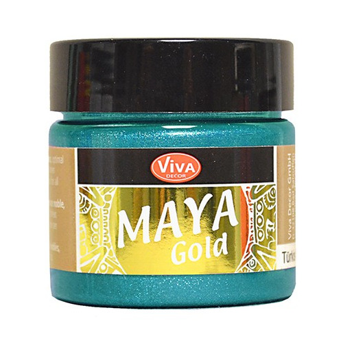 Maya Gold 45ml Turkis