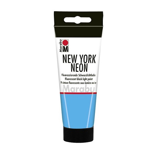 NEW YORK NEON, neon-blauw 355, 100 ml Tube