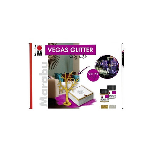 VEGAS GLITTER set CITY LIFE