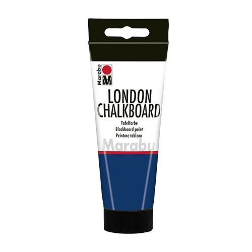 LONDON CHALKBOARD, donker blauw grijs 990, 100 ml Tube
