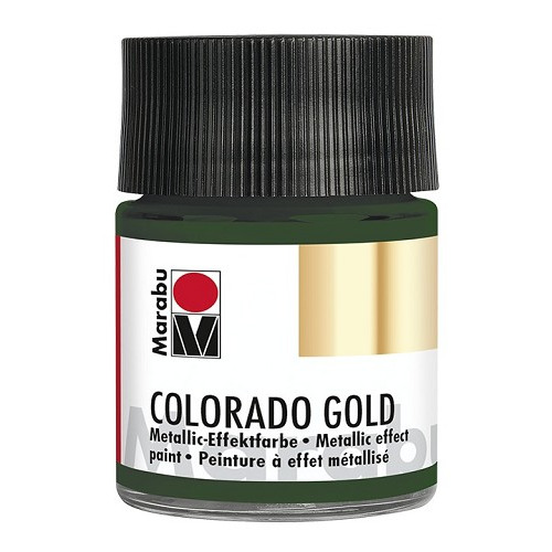 COLORADO GOLD, metallic-donkergroen 50 ml
