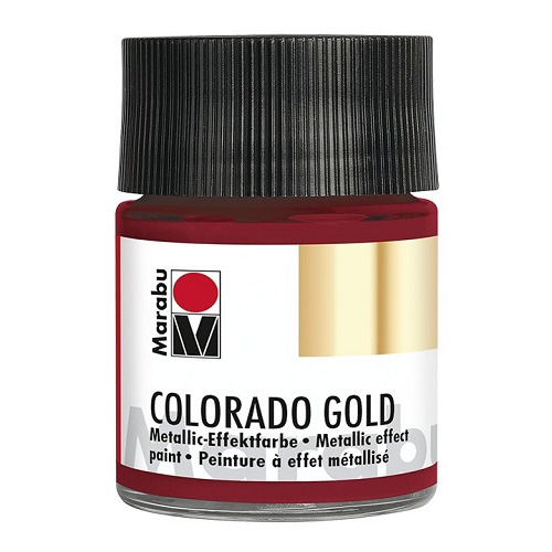 COLORADO GOLD, metallic-rood 50 ml