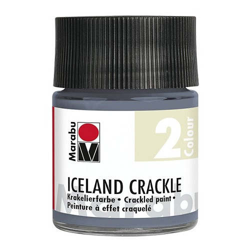IICELAND CRACKLE, leigrijs 50 ml
