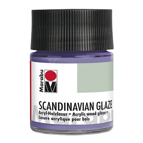 SCANDINAVIAN GLAZE, glinsterend lila 50 ml