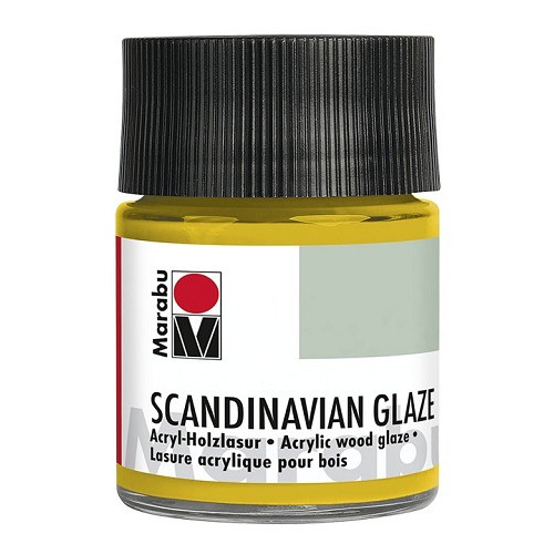 SCANDINAVIAN GLAZE, glinsterend goud 50 ml