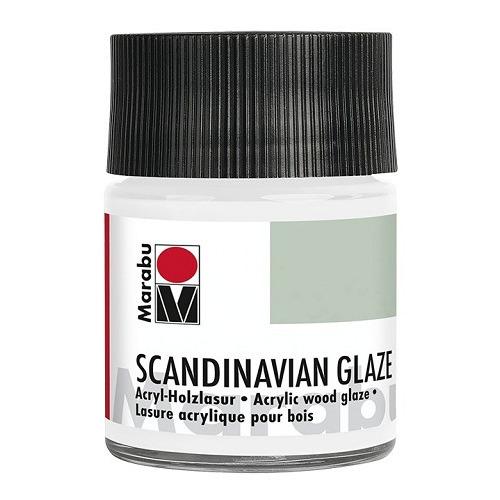 SCANDINAVIAN GLAZE, glinsterend zilver 50 ml
