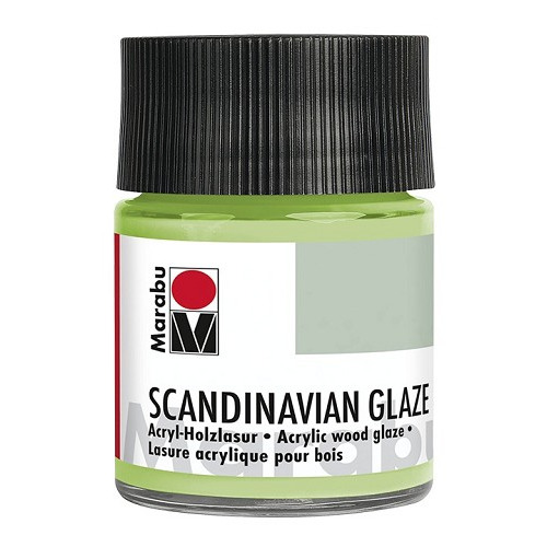 SCANDINAVIAN GLAZE, glinsterend reseda 50 ml